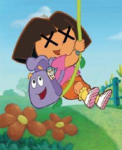 S R  Braddy: Dora the Ex-Plorer
