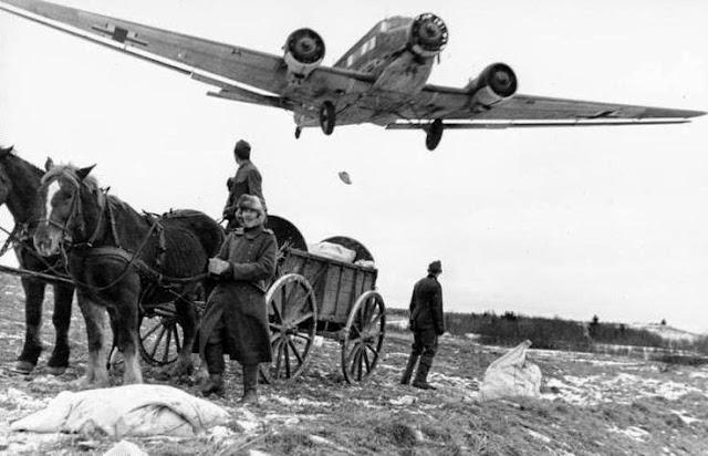 Battle of Dombås worldwartwo.filminspector.com Junkers Ju 52 air-drop