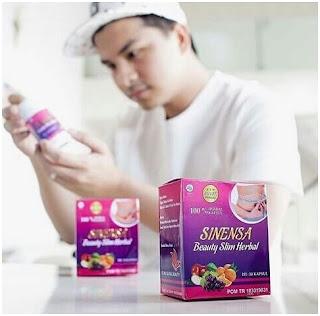 Glenn Alinskie Mengkonsumsi Obat Pelangsing Badan Ampuh Terbukti dan Aman BPOM Serta Halal - Sinensa Beauty Slim Herbal BPOM