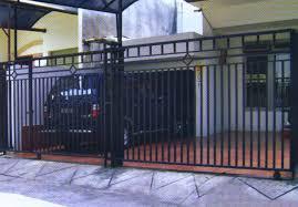 Harga Pintu Gerbang Dorong Minimalis Harga Rp.450.000