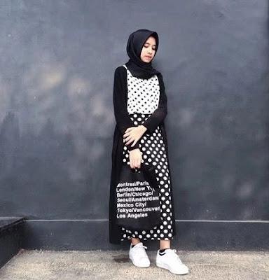 style hijab remaja kekinian