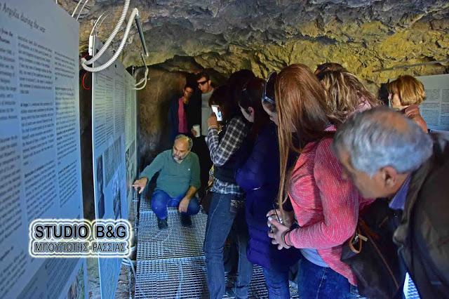 Επισκεφτείτε τον εκθεσιακό χώρο με θέμα τον Β' Παγκόσμιο Πόλεμο στον αρχαιολογικό χώρο της Ασίνης