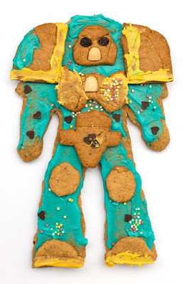 ginger bread space marine 2