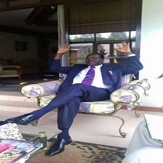 Raila odinga now is stressed for the CORD shambles.