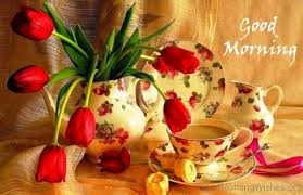 Best good morning with flowers