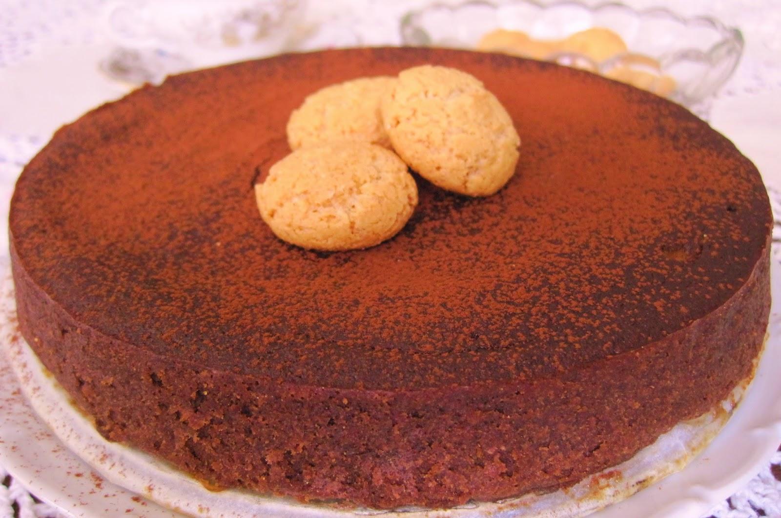 La Cucina Di Nuccia Torta Pesche Amaretti Senza Farina E Senza Burro