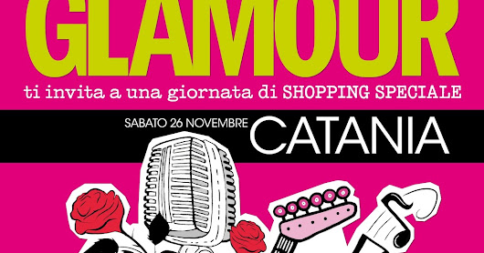 HAVE A GLAMOROUS WEEKEND- Catania- Save The date Sabato 26 Novembre