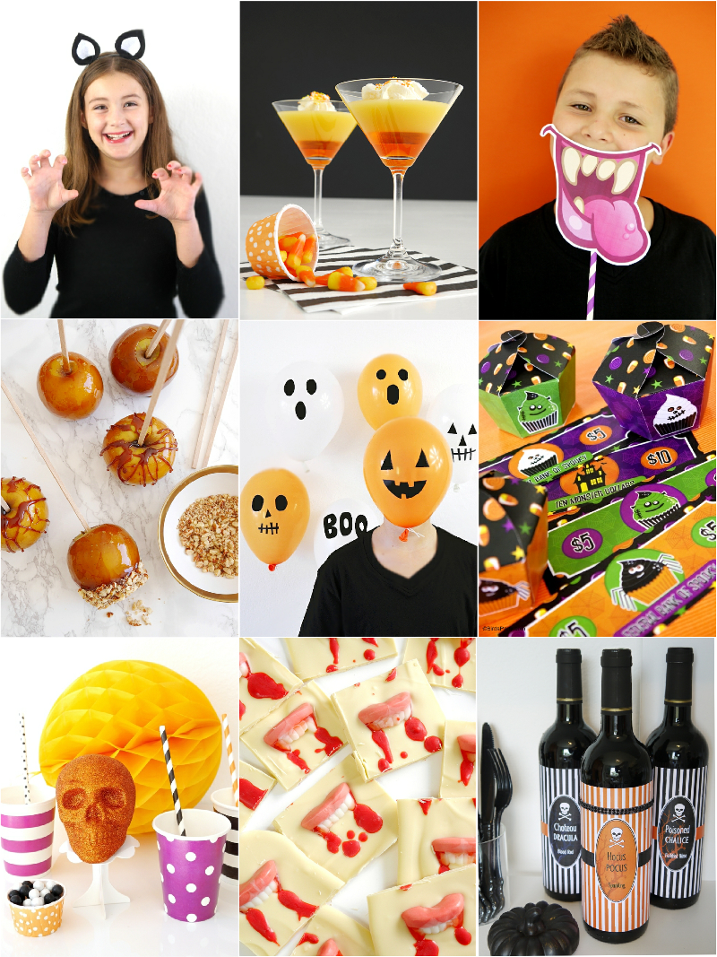 Last minute halloween party ideas food costumes party for Last minute party ideas