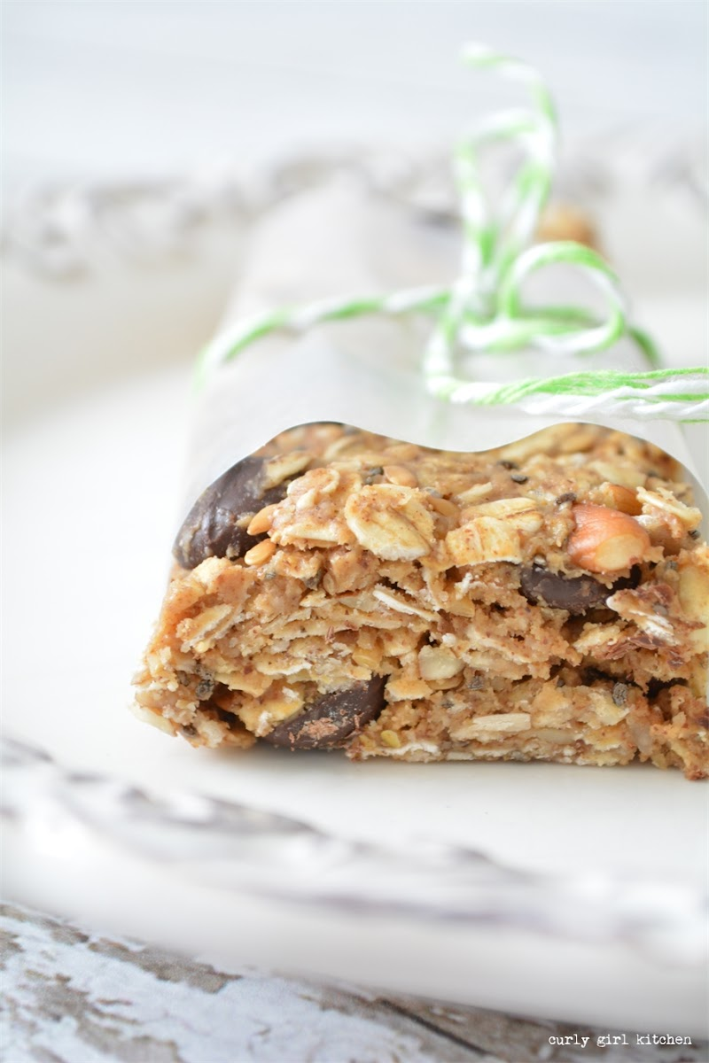 Chewy Granola Bars, paleo, gluten free