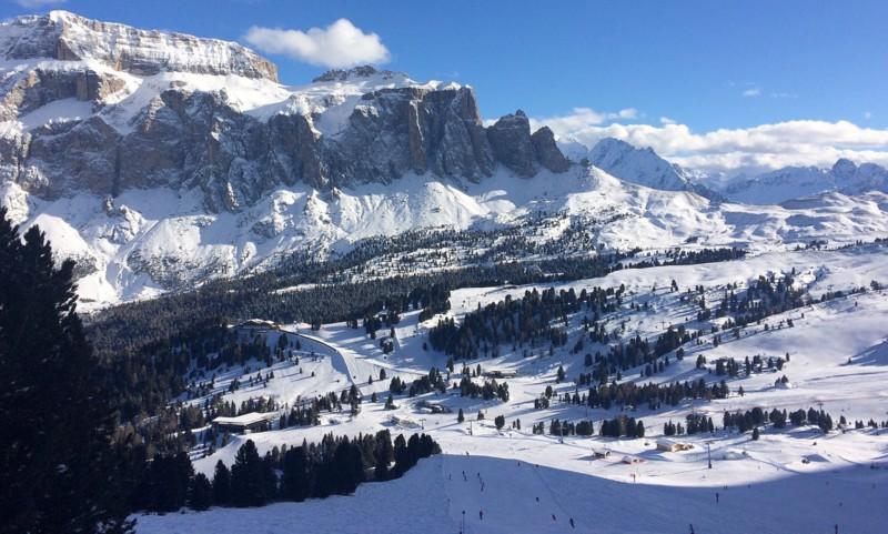 Val di Fassa: Dolomity w styczniu