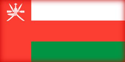 Large flag image of Oman