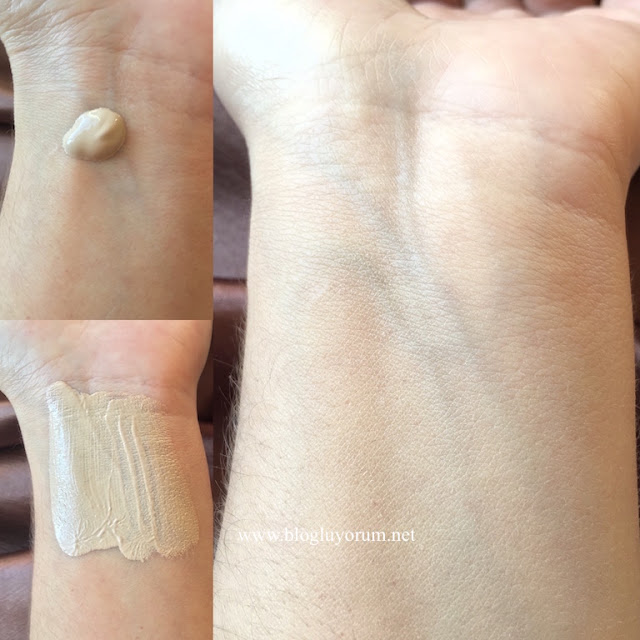 w7 hd foundation buff swatch