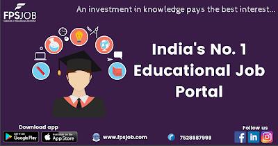 India's No.1 Educational Job Portal