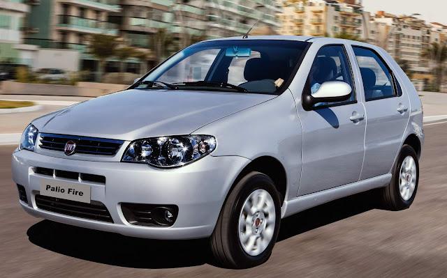 Fiat encerra produção do Palio Fire, Idea, Doblò e outros