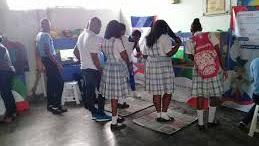 La Psicóloga del colegio Maria Auxiliadora de Condoto Viviana Rincón habla de como fue el procesos para que la estudiante Harlin Mosquera Lozano