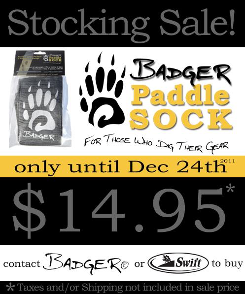 Badger® HOLIDAY STOCKING SALE! - Badger Paddles