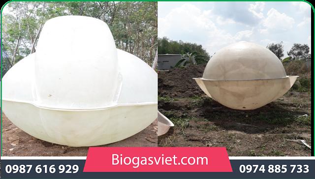 hầm biogas cho hộ gia đình