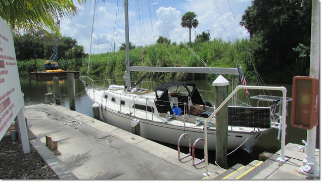 1969 Cheoy Lee Luders docked at Indiantown Marina.