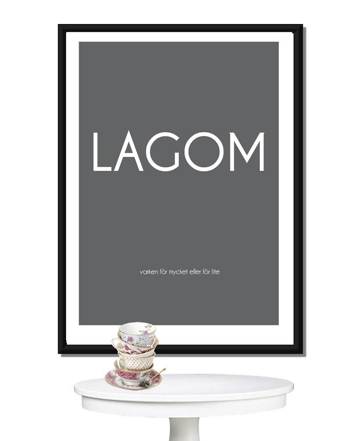 """Lagom no tiene traducción, viene a significar """"la cantidad justa"""""""