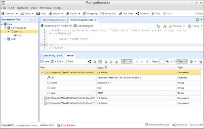 MongoBooster on Lubuntu 16.04