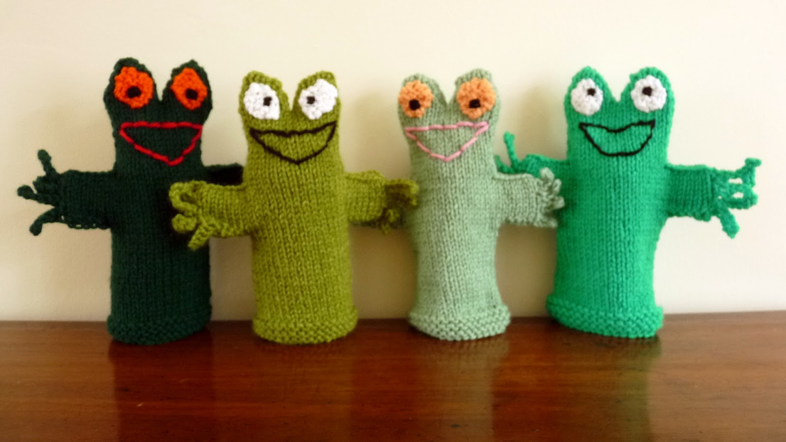 Musings Of The Puppet Lady Frog Puppet Knitting Pattern