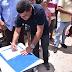 Diogo Alexandre assina ordem de serviço para pavimentação de ruas em Chã Grande