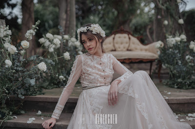 tocado novia