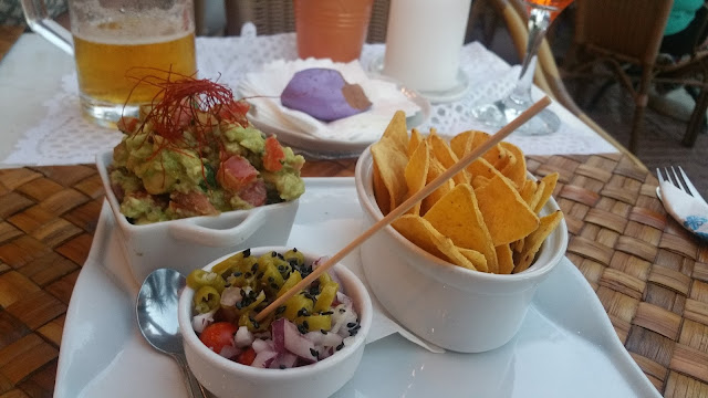 Nachos at Kaos in Santa Eulalia, Ibiza