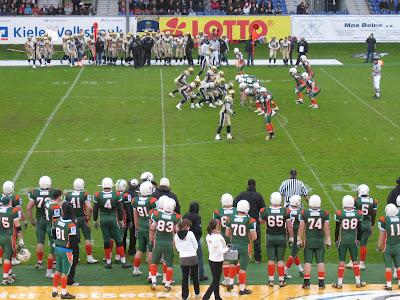 Kiel Baltic Hurricanes im Holsteinstadion