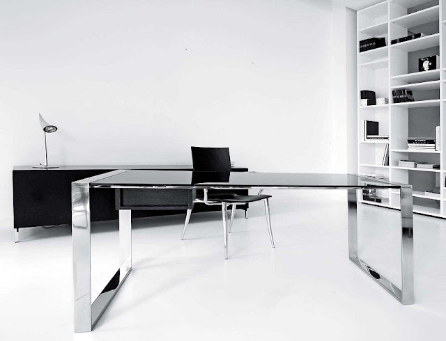 best buy glass steel modern office furniture Portland OR for sale