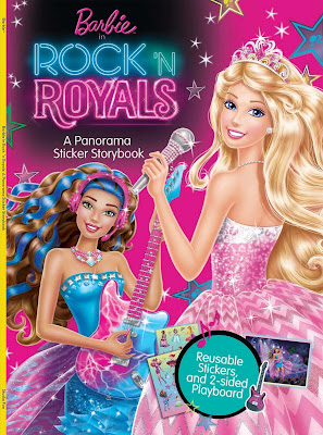 Barbie In Rock N Royals 2015 Dual Audio WEBRip 480p 110mb HEVC x265