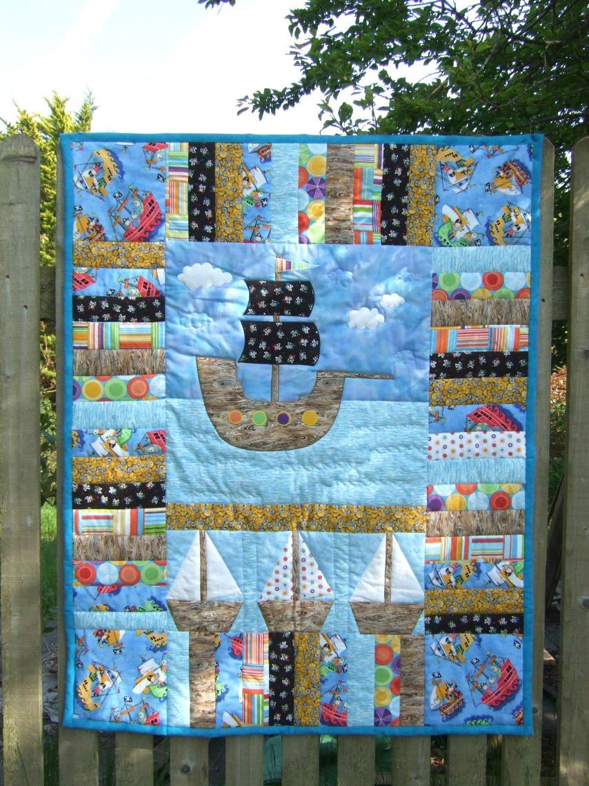 Emy's Crafty Blog: A pirate quilt
