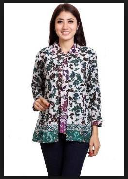 Model Baju Batik Wanita Terkini