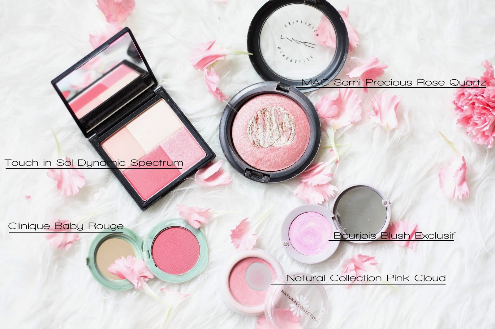 Powder blushers for this spring