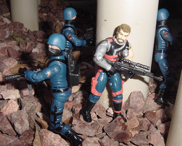 1991 Mercer, 2004 Cobra Infantry, Trooper, TRU Exclusive