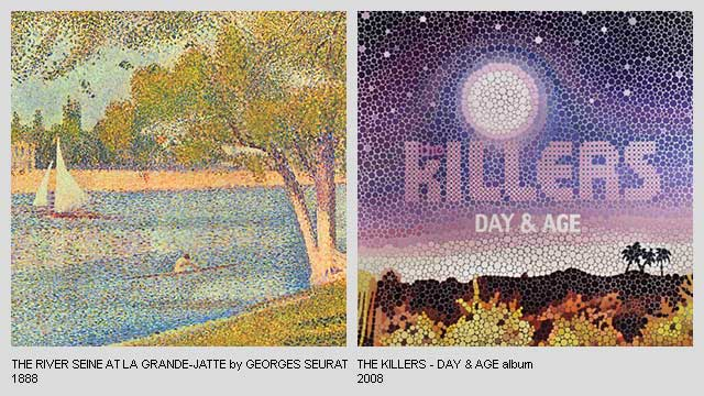The-river-Seine-at-La-Grande-Jatte-by-Georges-Seurat-Day-and-Age-Album-by-The-Killers