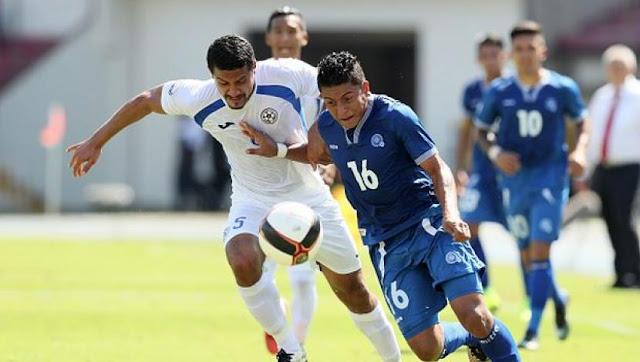 El Salvador vs Nicaragua en la Copa Centroamericana 2017