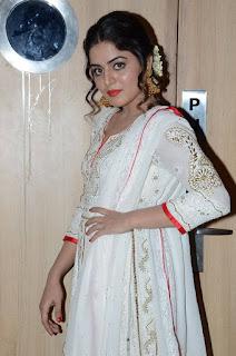 Actress Wamiqa Gabbi Stills in White Salwar Kameez at Nannu Vadili Neevu Polevule Audio Launch  0009