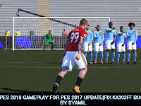 PES 2017 Like 2018 Gameplay dari Syamil update 17/4/2018