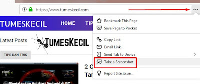 Cara screenshot panjang di laptop