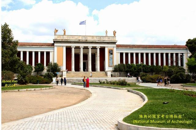 希腊雅典国家考古博物馆。(行云提供)