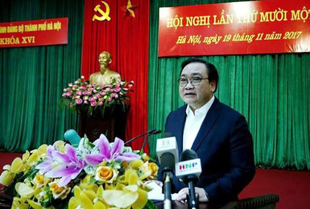 Ông Hoàng Trung Hải - Bí thư thành ủy TP. Hà Nội