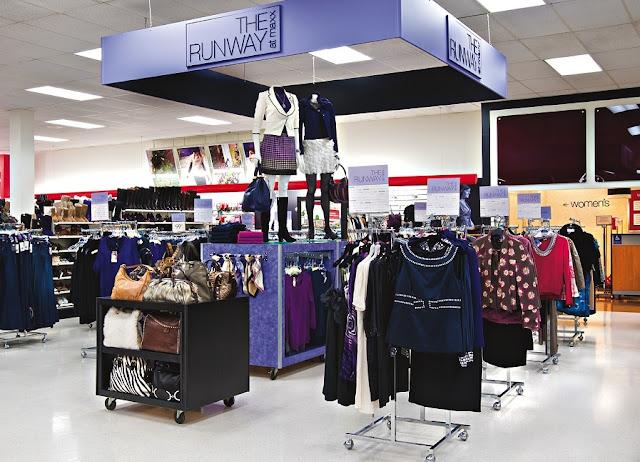 Loja TJ Maxx em Nova York:  casacos e roupas de frio