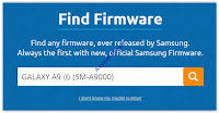 Firmware Samsung GALAXY A9 SM-A9000
