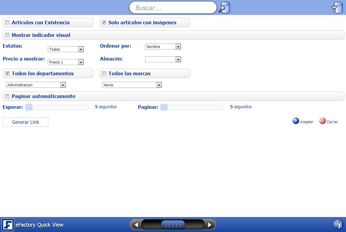 Software administrativo web eFactory ERP/CRM para el Cloud Computing en Venezuela