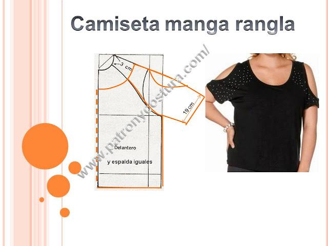 www.patronycostura.com/camiseta manga corta rangla