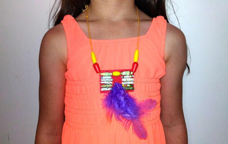 Le cahier de Nougatine bricolage collier indien