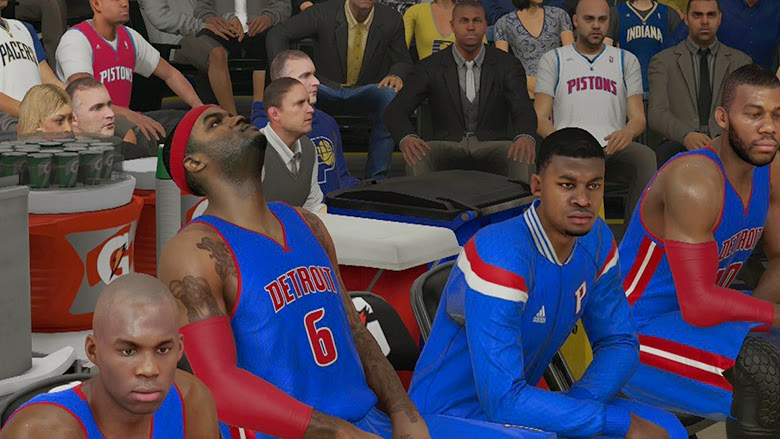 NBA 2K15 Roster Update 12/23/14 - Josh Smith Waived