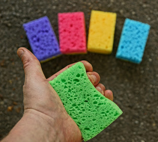 Squeezing sponges