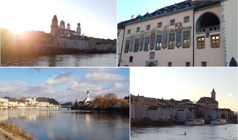 Passau die Drei-Flüße-Stadt